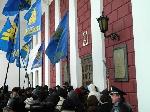 «Свобода» штурмувала будівлю Одеської міськради