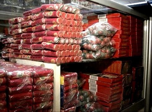 У Києві міліція вже вилучила 137 тисяч піротехнічних виробів - фото