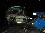 На Херсонщині зіткнулися автобус і мікроавтобус – постраждало шестеро людей
