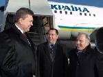 Янукович поїхав до Швейцарії з робочим візитом