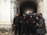У Гостинному дворі «Беркут» напав на народних депутатів