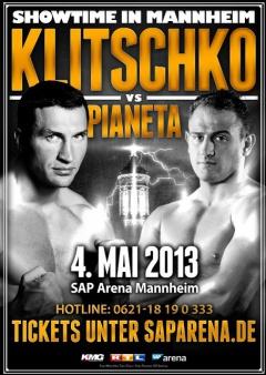 Володимир Кличко битиметься з італійцем Пьянетою у травні - фото