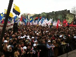 Акція «Вставай, Україно!» пройшла в Рівному
