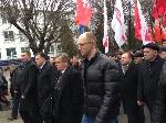 У Луцьку проходить марш «Вставай, Україно!»