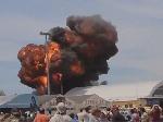 На авіашоу в Мадриді вибухнув літак