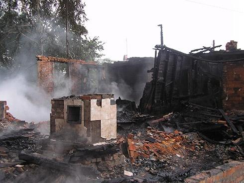 На Одещині в пожежі загинула дитина - фото