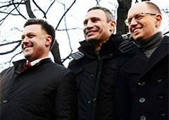 Опозиція хоче провести акцію «Вставай, Україно» у Донецьку - фото