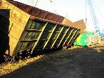 У Миколаєві зійшов з рейок локомотив, зіткнувшись з вагонами на сусідній колії