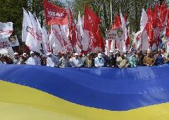 УДАР заявляє, що влада намагається зірвати «Вставай, Україно» у Донецьку - фото