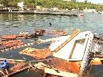 В Одесі вибухнула яхта