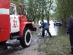 В річці Десна різко піднялась вода, заблокувавши кількох відпочиваючих