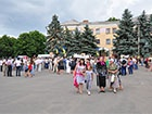 У Первомайську провели мітинг проти політичних репресій