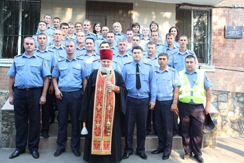 Врадіївську міліцію «очистив» батюшка - фото