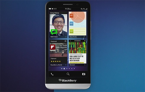 BlackBerry представила смартфон Z30 - фото