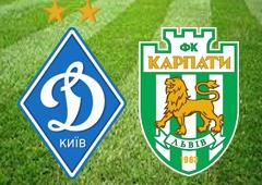 «Динамо» насилу забило гол у ворота «Карпат» - фото