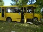 На Черкащині автобус з пасажирами врізався в дерево