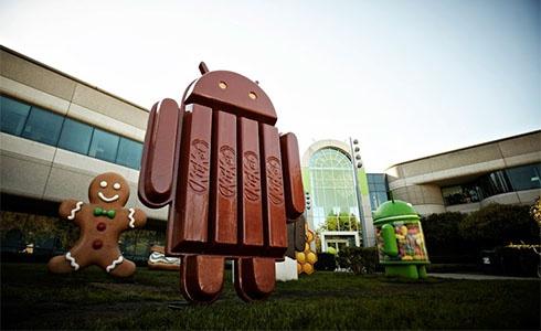 Нова версія Android називатиметься KitKat - фото
