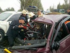 У Краматорську зіткнулися три автівки – загинула людина та 9 отримали травми