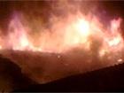 В Голосіївському районі сталася масштабна пожежа