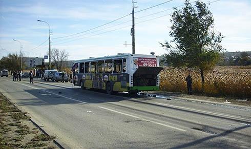Автобус у Волгограді підірвала смертниця - фото