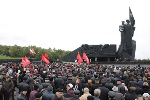 Комуністи зібралися в Донецьку щодо вступу до Митного союзу - фото