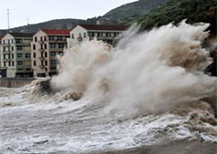 МЗС застерігає українців у Китаї про небезпеку від тайфуну Фітоу - фото