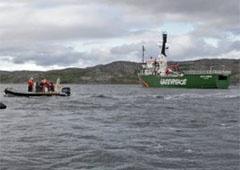 На судні грінпісівців «Arctic Sunrise» знайшли наркотики – СК РФ - фото