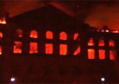 Пожежу в НАУ погасили - фото