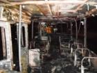 У Чернігові загорівся тролейбус з людьми