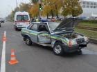У Харкові в аварію потрапила машина ДАІ