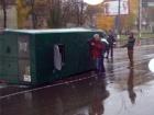 В Сумах міліціонер протаранив маршрутку – постраждало 8 людей
