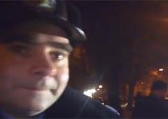 ДАІшники не пустили автобус до Києва на Євромайдан - відео - фото
