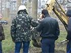 На Княжому затоні знову встановили будівельний паркан