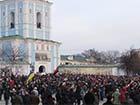На Михайлівській площі зібрався кількатисячний мітинг