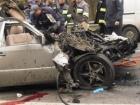 На Мінському проспекті внаслідок зіткнення Мерседесу з вантажівкою загинули двоє