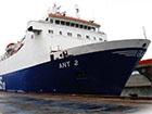 У морі під Севастополем загорівся паром зі 102 людьми