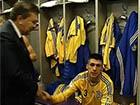 Янукович зайшов у роздягальню футболістів особисто їх поздоровити