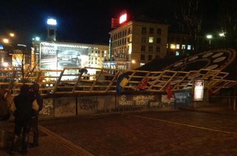 Євромайдан зайняв майже весь адміністративний центр Києва - фото