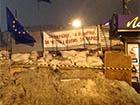 Кияни не прийшли зносити барикади на Євромайдані