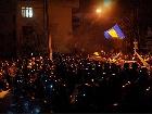 Міліція з депутатами з ПР зачистила блокпост на Лютеранській