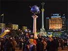 Мітингувальники добре забарикадувалися на Майдані Незалежності