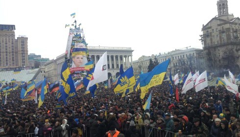 На Майдані триває Народне віче - фото