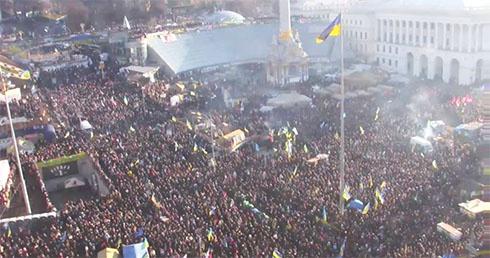 На Народному віче створили Народне об'єднання «Майдан», яке стоятиме доки його не почують - фото