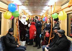 На Новий рік метро у Києві працюватиме до 01:00, інший громадський транспорт – до 02:00 - фото