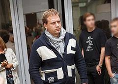 Побили ведучого антимайдану Юрія Кота - фото