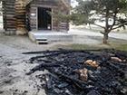 У Євпаторії підпалили храм Київського патріархату за підтримку Євромайдану