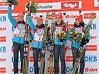 Українські біатлоністки здобули перше золото у сезоні