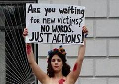 Дівчину, яка в одиночку мітингувала біля посла США, судитимуть - фото