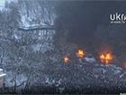 Грушевського палає, Євромайдан готується до розгону
