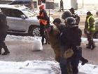 Міліція намагалася затримати людей тільки тому, що ті були в касках